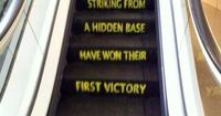 Funny-Star Wars- If I ever am in charge of an escalator - It's getting a paint job.