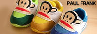 cute kids shoes by Paul Frank.. various colors,, animated cartoons.. very reliable.. very comfortable..