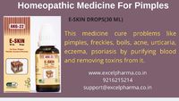 Get rid of ugly scars, acne or chickenpox scars & painful pimples by buying Homeopathic Medicine for Pimples online from Excel Pharma. Go to our website and browse our extensive range of homeopathic products online. https://bit.ly/3in4dgM