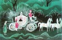 Concept art for Cinderella by Mary Blair