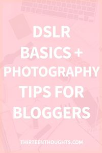 Photography tips for bloggers Photography is a huge part of blogging, there's no denying that. I think that one of my favorite aspects of having a blog is not o