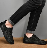 Breathable Spring Autumn Casual Mens Loafers Genuine Leather Mens Moccasins Shoes,New,on Sale! More Info:https://cheapsalemarket.com/product/breathable-spring-autumn-casual-mens-loafers-genuine-leather-mens-moccasins-shoes/