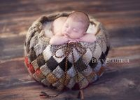 Entrelac Basket Knitting Pattern - Newborn Photography Prop by Melody Rogers. $3.50. 6 pages