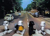 Lego Star Wars Abbey Road by Brandon McFadden