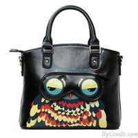 Fashion ,Owl ,Leather ,Handbag ,Shoulder Bag