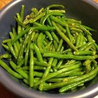 Easy Garlic Green Beans Allrecipes.com- add some lemon juice and you're all set!