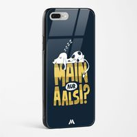 Main Aur Alsi Glass Case Phone Cover from Myxtur
