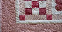 Hearts Baby Quilt ~ No Pattern...inspiration only