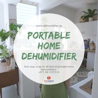 Portable dehumidifier for home use to avoid dampness. #Dehumidifier #Portable #Home #Moisture