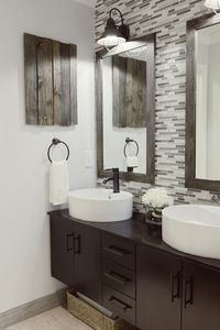 neat decorative idea Home Sweet Home on a Budget: Master Baths by Bloggers