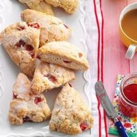 """If you are like me, you won't be able to eat just one of these warm scones rich with cream and packed with berry goodness.�€""""Agnes Ward, Stratford, Ontario"""