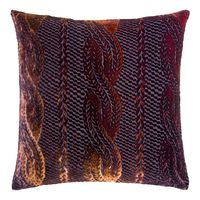 Wildberry Cable Knit Pillow by Kevin O'Brien Studio $311.00