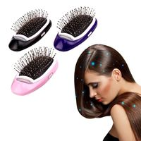 �Ÿ˜�Portable Electric Ionic Hairbrush Negative Ions Hair Comb Brush Hair Modeling Styling Hairbrush�Ÿ˜� $15.84