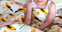 DIY duvet tutorial - all sizes. plus link to this cute fabric