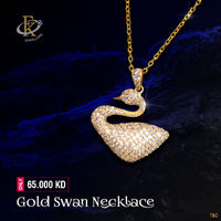 The perfect piece for any outfit, Dress to impress with this stunning statement necklace. �–� Product type: Gold Necklace  �–� Price: 65.000KD �–� Weight: 3.300 Grams �–� Free Delivery �–� Karat: 18 Karat �–� Part...