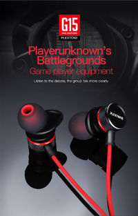 PLEXTONE G15 Earphone 3.5mm Magnetic Stereo Gaming Headphone with Mic for iPhone Xiaomi Computer PS4