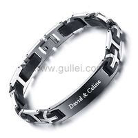 Engraved Mens Promise Bracelet Gift Silicone Black https://www.gullei.com/engraved-mens-promise-bracelet-gift-silicone-black.html