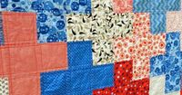 plus quilt -- Ties that Bind