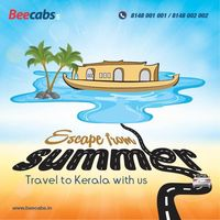 NATURAL DESTINATION TO GO FOR HOLIDAYS!  Well, Let's go somewhere. now is the time to travel!! What're you waiting for ? Travel to kerala with #Beecabs Car Rental