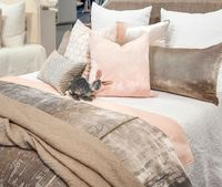 Henna White Coverlet by Kevin O'Brien Studio $495.00
