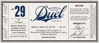 This is a product of Duel Supply Co., Los Angeles, CA. Made using only the finest materials, ingredients and superior workmanship. Duel products are produced in