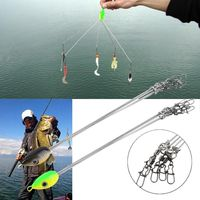 Outdoors Convenient Fish Lures Fishing Hook Stainless Steel Equipment Multifunctional Fishing Tackle Combination free shipping $9.97