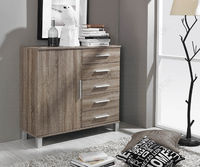 Rauch Furniture Vereno Extra Matching Bedroom Pieces with Wood Front