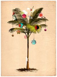 Tropical Christmas Tree