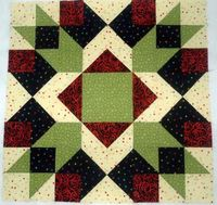 Patterns for big quilt blocks, all perfect to make a big block quilt or to use in medallion quilts, for throw pillow covers, as wallhangings and much more.