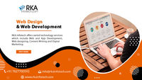 RKA Infotech is recognized as the best Web & App Development services company. We offer static and dynamic website design services at affordable prices.