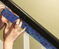 Wood finish is the classic look for banisters, but there are plenty of reasons why you might want to paint one instead. Sometimes it's already painted, and stri