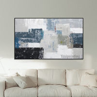 Modern Abstract acrylic painting on canvas extra Large Wall Art Pictures for living room Home Decor Hand Painted Nordic cuadros abstractos $89.00