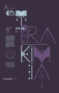 ALQUIMIA TYPE: by Luis Miguel Torres and Diego L. Rodriguez, via graphic design layout, identity systems and great type lock-ups.