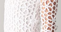 Crochetemoda: Vestido Branco de Crochet XV. Want to do it as a top. Very simple - with diagram