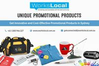 Get Best Collection of Promotional Products at very reasonable prices in Workslocal. They offer multiple promotional products and delivers high quality. Their promotional products can also help you get attention, attract new customers, increase new busine...