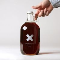 """""""big jug"""" of pure organic maple syrup / north family farms / best x made"""