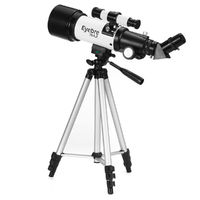 Portable 336X Travel Telescope Observing PlanetsTelescope 300mm Astronomical Refractor With Tripod & Finder Scope