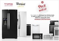 Enter for your chance to win a Whirlpool Ice kitchen suite! repost to win and follow hhgregg on pinterest!