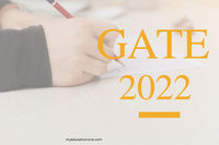 """https://www.myeducationwire.com/gate-2022/ GATE 2022 �€"""" Graduate Aptitude Test in Engineering 2022 popularly known as GATE entrance test date has been announced. Graduate Aptitude Test 2022 is the entrance examination conducted for admission ..."""