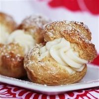 Cream Puffs - Delicious with the comments taken into account!
