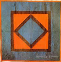 apotospitimou: Pieced Quilt Center Diamond Amish 1910 Lancastr PA (by SurrendrDorothy)