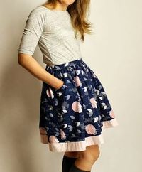 Pink Castle Blog: Made By Rae - Made to Measure Skirt Class!