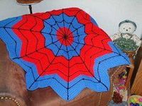 You can't deny that this Spiderman Round Ripple Afghan is awesome and clever. Crochet afghan patterns as special as this one don't come around often. Basically,