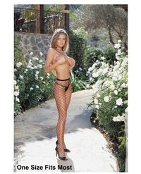 Fence net pantyhose black Our Price: $4.99
