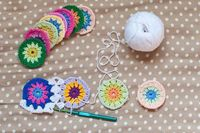 Eva's Doodlings: How To: Join-as-you-go Granny Squares