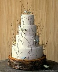 Enchanted Forest Wedding Cake Ideas