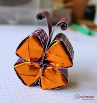 Butterfly tutorial candy holder