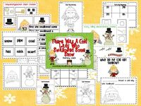 Live, Love, Laugh Everyday in Kindergarten: There Was A Cold Lady Who Swallowed Some Snow Literacy Pack