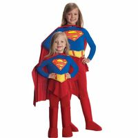Supergirl Kids Costume Small 4-6 https://costumecauldron.com