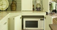 An appliance garage keeps your most used appliances plugged in and ready to go without cluttering your countertop.